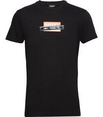 t-diego-s7 t-shirt t-shirts short-sleeved svart diesel men
