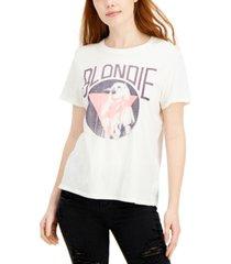 junk food women's blondie relaxed crewneck t-shirt