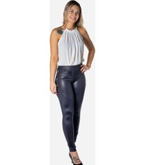 calca dwz legging com botoes lateral