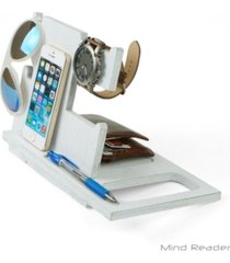 mind reader accessory light wood accessory and media stand