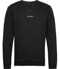 lens sweatshirt sweat-shirt trui zwart les deux