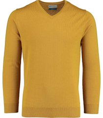 bos bright blue aron v-neck pullover 20305ar21bo/860 bronze