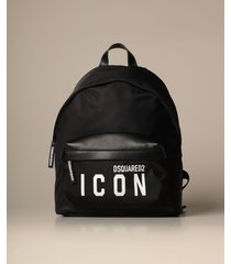 dsquared2 backpack dsquared2 nylon backpack with icon logo