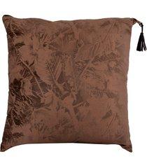 almofada decorativa de veludo borsa