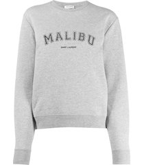malibu sweater grey