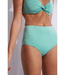 calzedonia high shaper waist swimsuit bottom indonesia eco woman green size 5