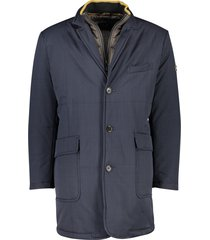 pierre cardin jas uitneembare binnenkraag marine