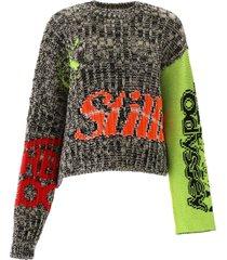 calvin klein intarsia pullover