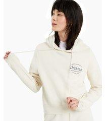 dickies cotton crop hoodie