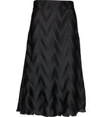 ella skirt knälång kjol svart twist & tango
