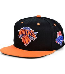 mitchell & ness new york knicks hardwood classic lotto pick snapback cap