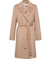 coat wool wollen jas lange jas beige gerry weber edition