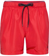 dw medium drawstring shorts casual röd tommy hilfiger
