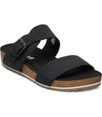 malibu waves 2 band slide shoes summer shoes flat sandals svart timberland
