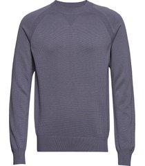 m. cotton cashmere knitted swe gebreide trui met ronde kraag grijs filippa k