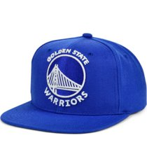 mitchell & ness golden state warriors xl color dub snapback cap