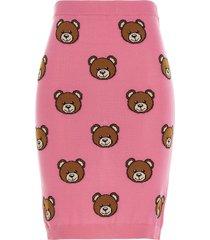 moschino teddy skirt