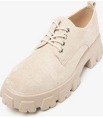 zapato rominita beige chancleta