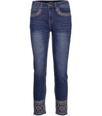 denim rous skinny jeans blå desigual