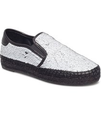 kkjoss3 sandaletter expadrilles låga vit kendall+kylie
