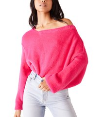 women's free people star sign pullover, size x-large - pink