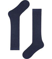 calzedonia tall warm cotton socks man blue size 44-45