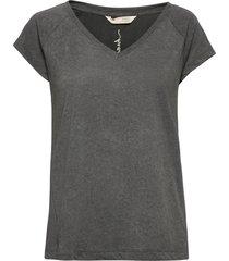 felice top t-shirts & tops short-sleeved grå odd molly