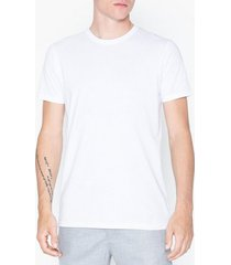solid rock ss organic t-shirts & linnen white