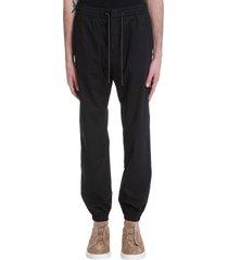z zegna pants in black cotton