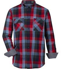 overhemd babista blauw::rood