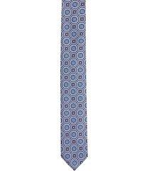 krawat platinum niebieski classic 238