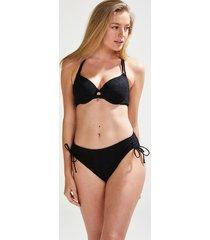 hunkemöller rio-bikiniunderdel med hög midja pacific doutzen svart