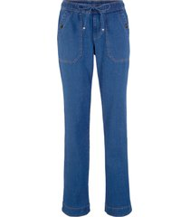 jeans senza chiusura wide fit (blu) - john baner jeanswear