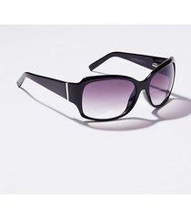 loft tortoiseshell print square sunglasses