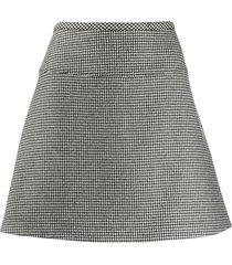 a.p.c. marthe straight skirt - black