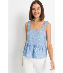 gedessineerde blousetop