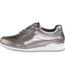 skor mona silverfärgad