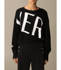 versace sweater versace pullover with jacquard logo