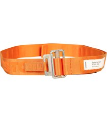 heron preston branded belt