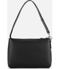 calvin klein jeans women's shoulder pouch - black