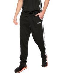 pantalón negro-blanco adidas performance e 3s t pnt sj