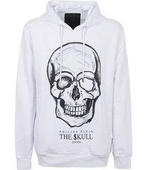 philipp plein hoodie sweatshirt print skull