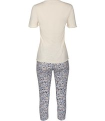 pyjama's / nachthemden lisca driekwart legging pyjama top limitless cheek