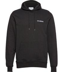 casual hoodie hoodie trui zwart han kjøbenhavn