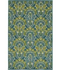 "kaleen a breath of fresh air fsr107-17 blue 5' x 7'6"" area rug"