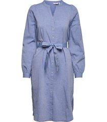 byjescha shirt dress - dresses shirt dresses blå b.young