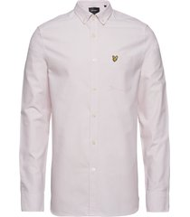 oxford shirt overhemd business roze lyle & scott
