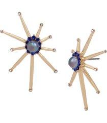 betsey johnson celestial starburst stud earrings