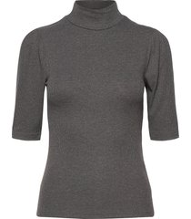 bytoella ss tshirt - t-shirts & tops short-sleeved grå b.young