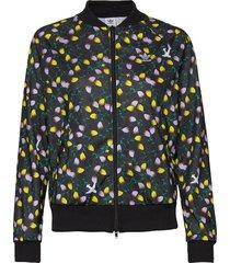 aop track top sweat-shirt trui zwart adidas originals